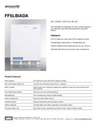 Spec Sheet   FF6LBIADA