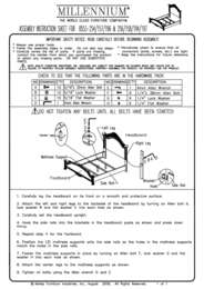 Panel Bed Assembly Instructions