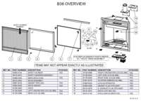B36 Overview Parts List