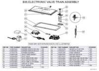B35 Electronic Valve Train Assembly
