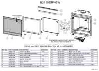 B35 Overview Parts List