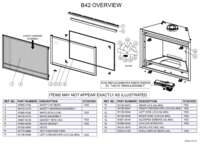 B42 Overview Parts List