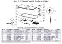 B42 Electronic Valve Train Assembly