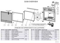 GX36 Overview Parts List