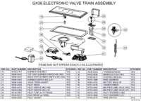 GX36 Electronic Valve Train Assembly