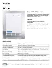 Spec Sheet   FF7LBI