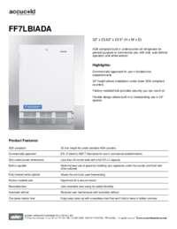 Spec Sheet   FF7LBIADA