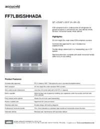 Spec Sheet   FF7LBISSHHADA