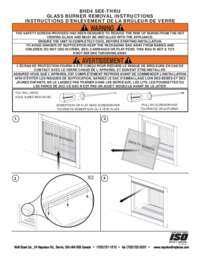 BHD4ST Glass Burner Removal