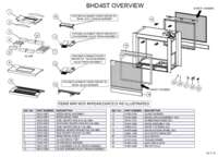 BHD4ST Overview Parts List