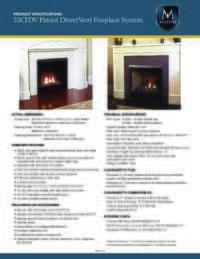 Specifications Sheet   33 Model