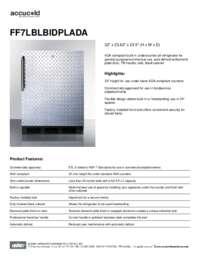 Spec Sheet   FF7LBLBIDPLADA