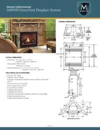 500DVB Spec Sheet