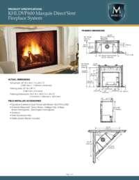 KHLDVP600 Spec Sheets