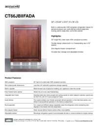 Spec Sheet   CT66JBIIFADA