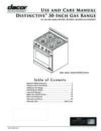 Use and Care Manual [1.48 MB]