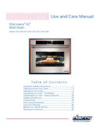 Use and Care Manual [4.81 MB]