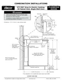 Combined Configuration ETT-MET_RV_Wall Oven