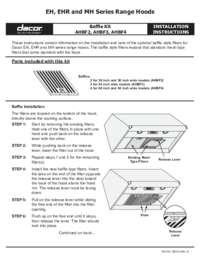 Installation Instructions EH-EHR-MH Baffle Installs [426 KB]