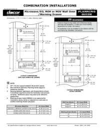 Combination Configuration Microwave_EO-MOH-MOV Wall Oven_Warming Drawer [301 KB]
