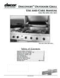 Use and Care Manual [4.92 MB]