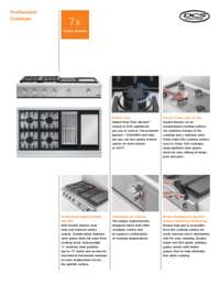 Product Flyer DCS Pro Cooktop