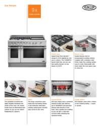 Product Flyer DCS Range Gas