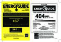 Us_ca_rs36a Energyguide Label