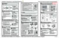 Fftr18g2qw Installation Instructions - English, Espanol, Francais