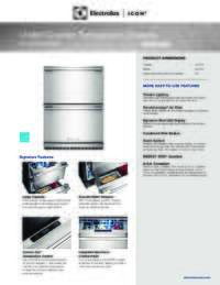 English Product Specifications Sheet