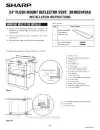 Flush Mount Deflector Vent (Installation Instructions)