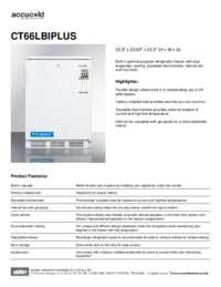 Brochure CT66LBIPLUS