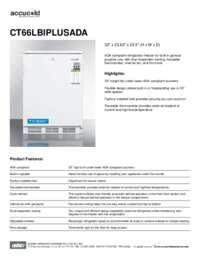 Brochure CT66LBIPLUSADA