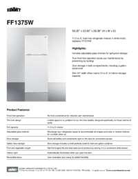 Brochure FF1375W