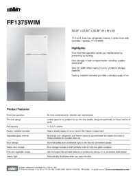 Brochure FF1375WIM