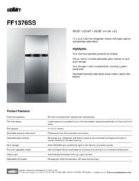 Brochure FF1376SS