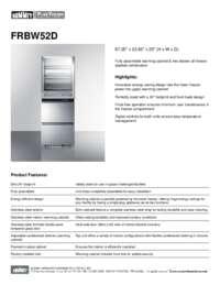Brochure FRBW52D