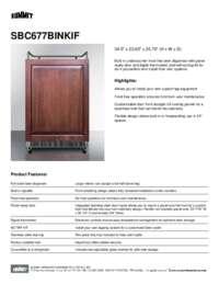 Brochure SBC677BINKIF