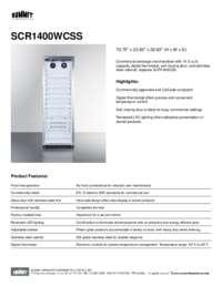 Brochure SCR1400WCSS