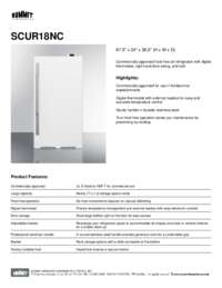 Brochure SCUR18NC