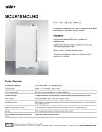 Brochure SCUR18NCLHD