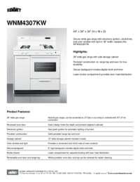 Brochure WNM4307KW