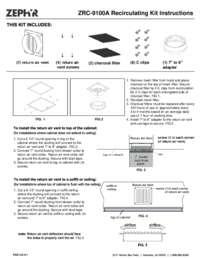 ZRC-9100A: Recirculating Kit
