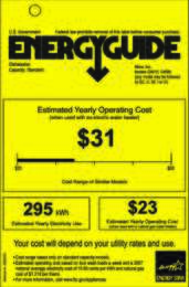 Energy Guide Labels: Energyguide_Futura_DimensionSlimline