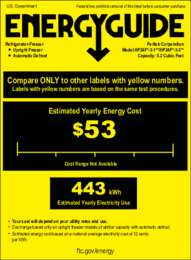 Click here to download energy information for solid door models (HP24F-3-1/2)