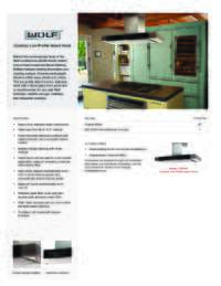 Cooktop Low-Profile Island Hood Quick Reference Guide