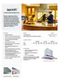 Cooktop Island Hood Quick Reference Guide