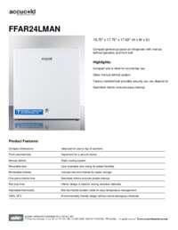 Spec Sheet   FFAR24LMAN