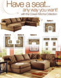 Cowan Sectional Configuration Options