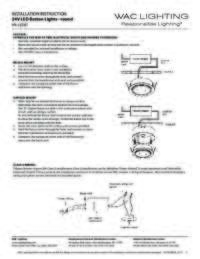 HR LED87 Instructions